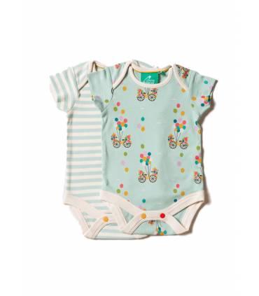 Set 2 baby bodysuit Flying...