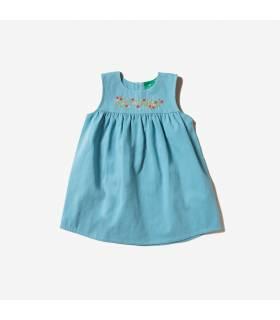 LITTLE GREEN RADICALS Embroidered Dress