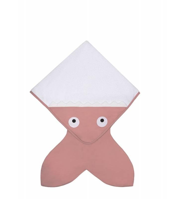 Baby Bites Shark Tail Towel