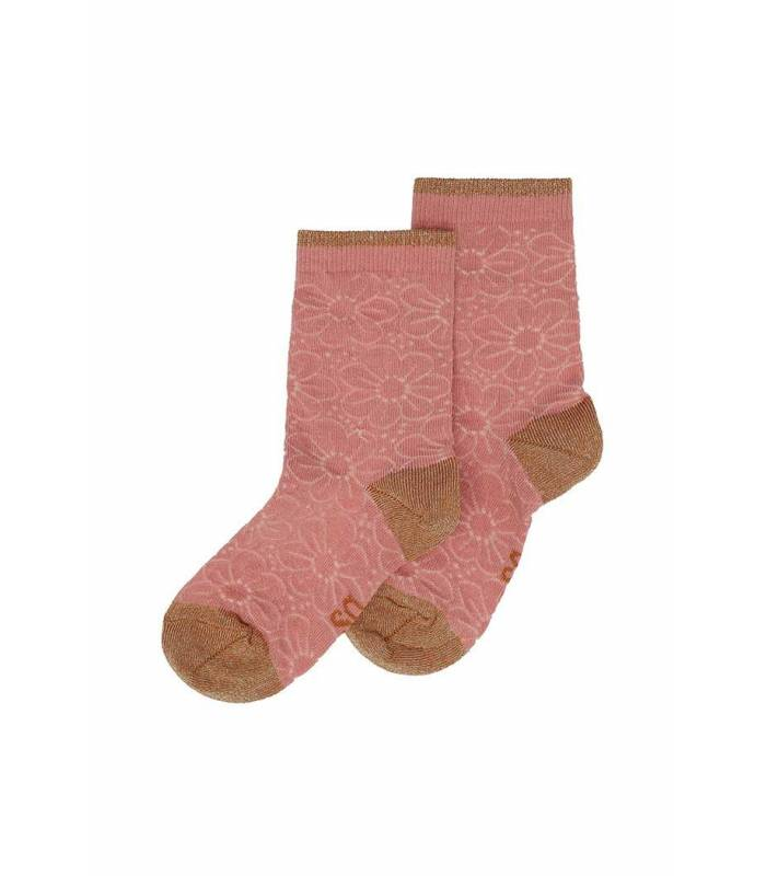 SOFT GALLERY MP Pink Floral Socks