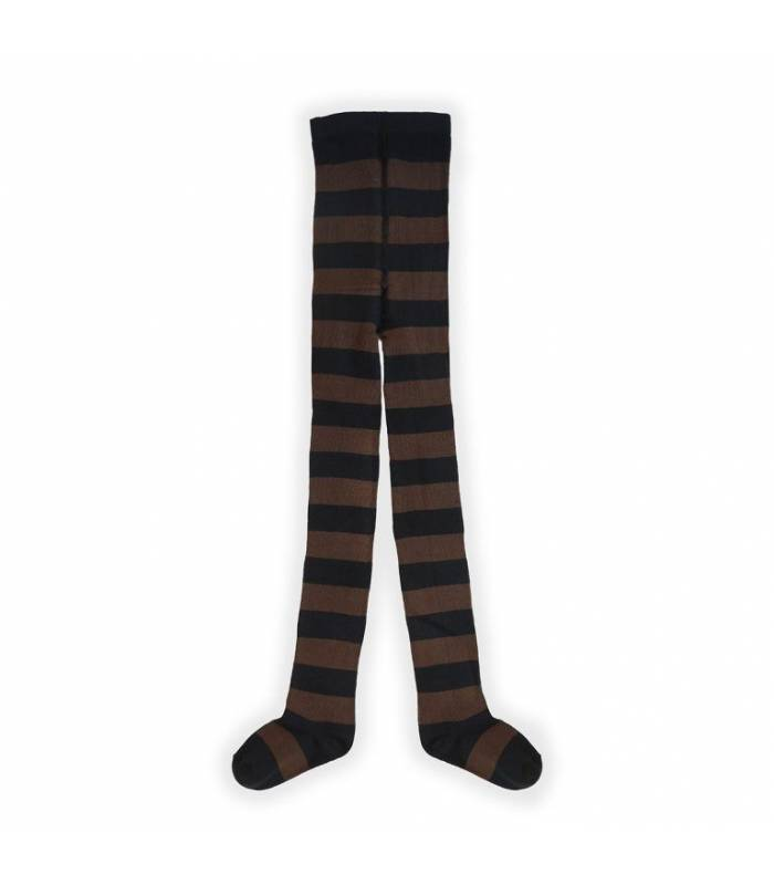 SPROET & SPROUT TIGHTS CHOCOLATE STRIPE