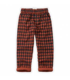 SPROET & SPROUT PANTS HARLEQUIN CHECK
