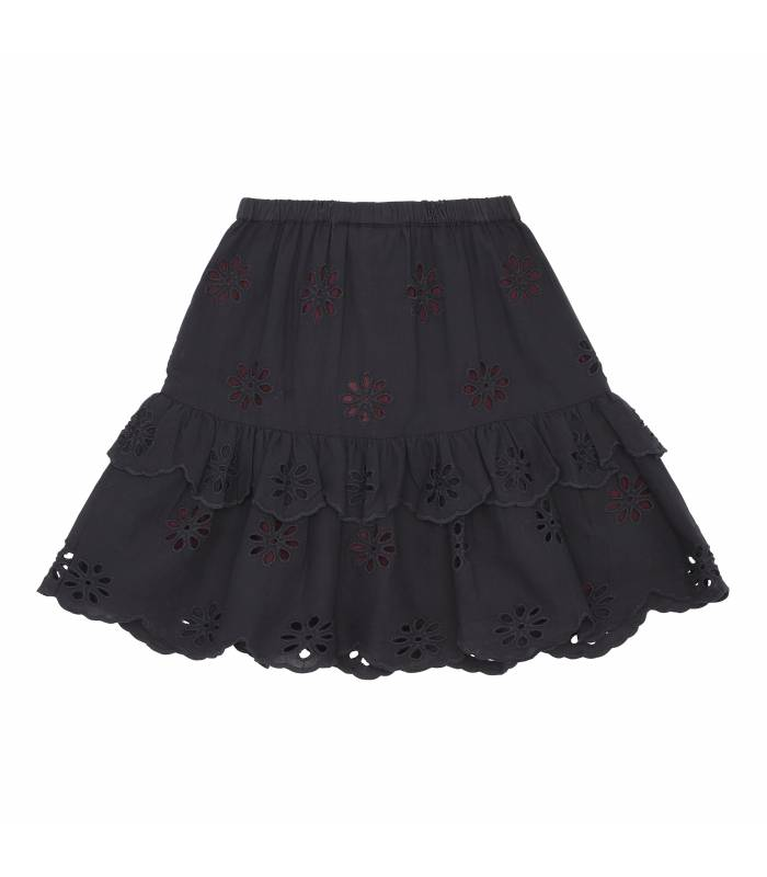 SOFT GALLERY FERN SKIRT BRODERIE ANGLAISE