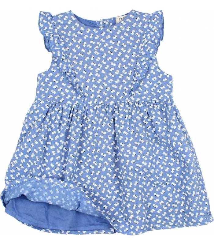 "BÚHO ""SEED"" PRINT BABY DRESS"