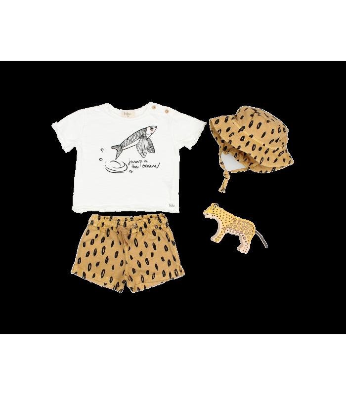 BÚHO BABY ANIMAL PRINT SWIMSUIT