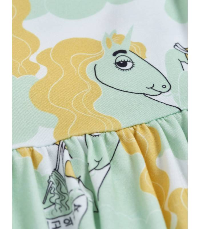 Mini Rodini  Unicorn Noodles Dress