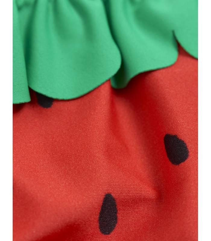 Mini Rodini Strawberry Frill Swim Pants