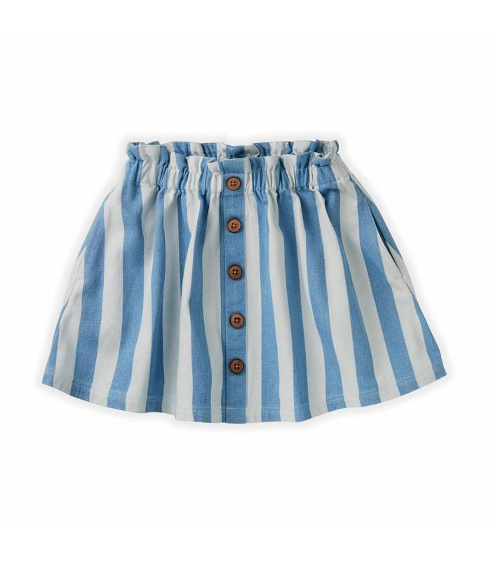 Sproet&Sprout Skirt Denim Stripe