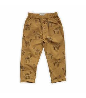 Sproet&Sprout Woven Pants Camel Print