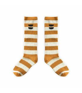 Sproet&Sprout High Socks Stripe Desert