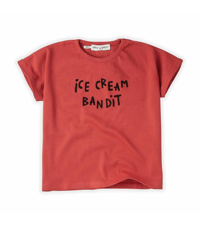 Sproet&Sprout Sweat T-shirt Terry Ice Cream Bandit