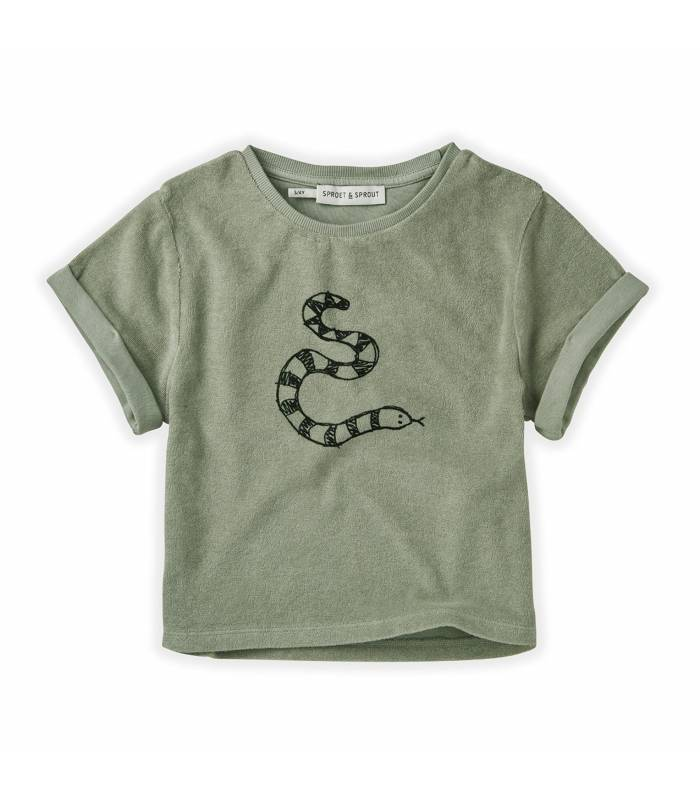 Sproet&Sprout Sweat Sweat T-shirt Terry Snake