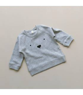 ORGANIC ZOO BEAR GREY JERSEY
