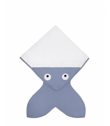 Baby Bites Shark Tail Towel