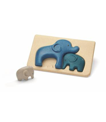 PlanToys elephants puzzle