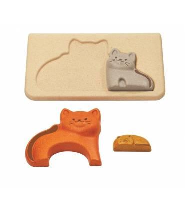 PlanToys cats puzzle