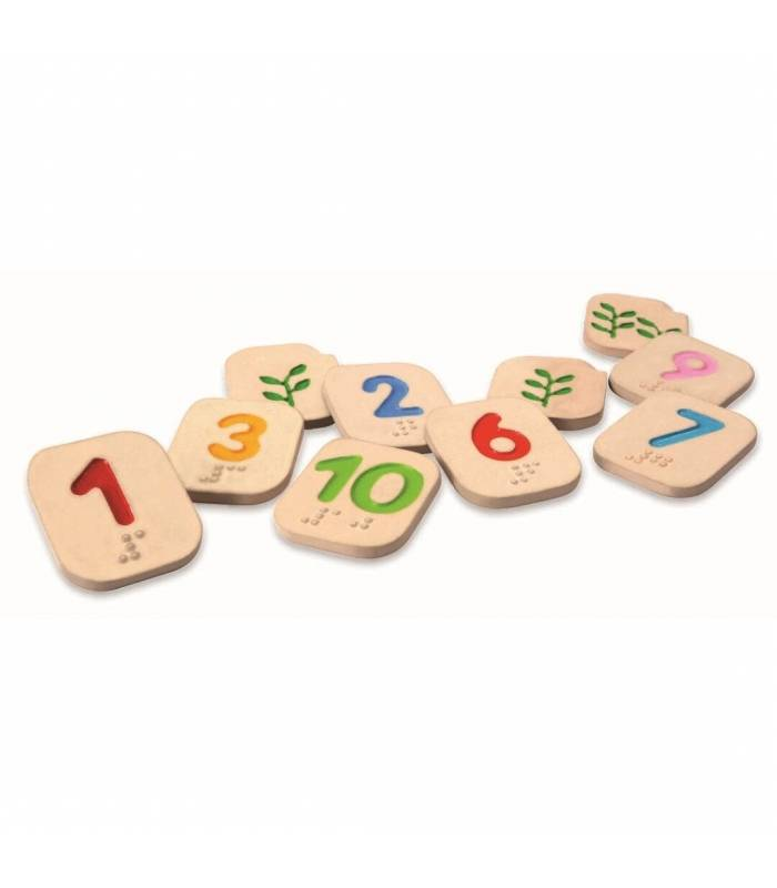 PLAN TOYS NUMBERS BRAILLE