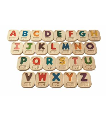 Alfabeto A-Z Braille PlanToys