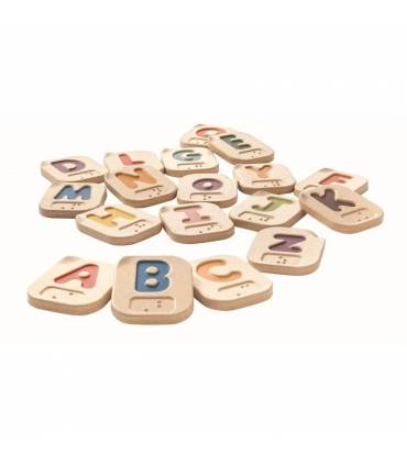 Alphabet A-Z Braille PlanToys