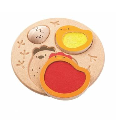 PlanToys chicks puzzle
