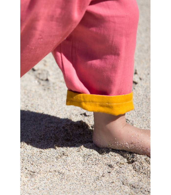 LITTLE GREEN RADICALS Day After Day Reversible Storm Trousers