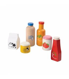 PLAN TOYS FOOD AND DRINK SET