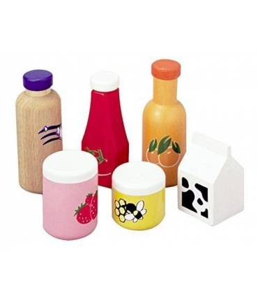 PlanToys food and drink set