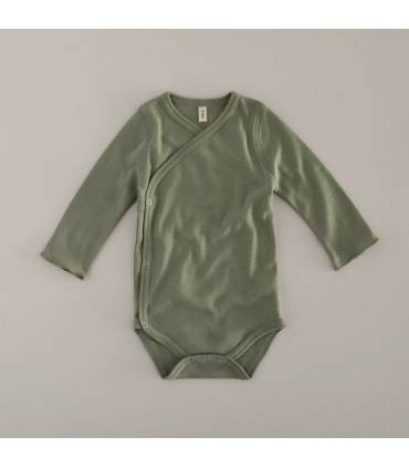Sage Wrapover Bodysuit...