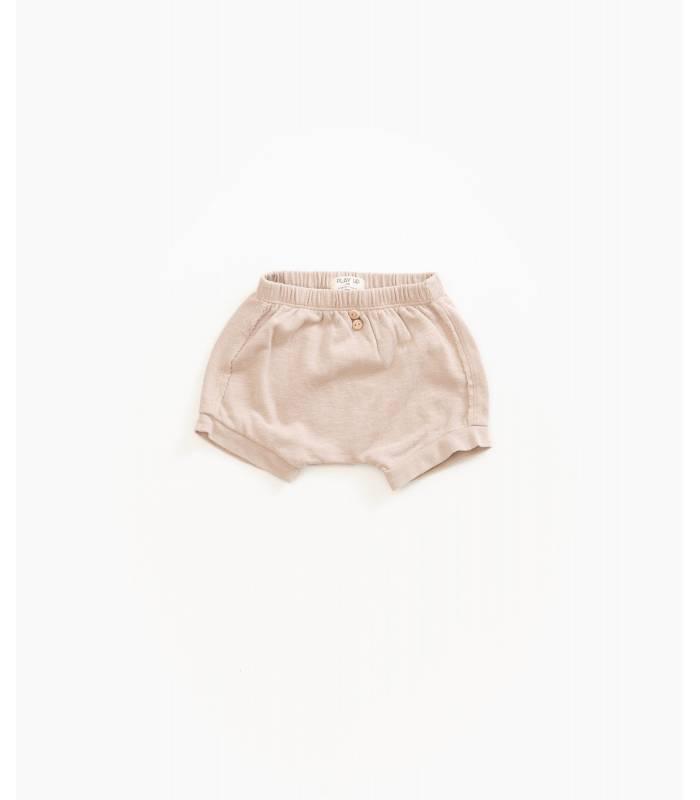 PLAY UP Short en coton bio avec poche