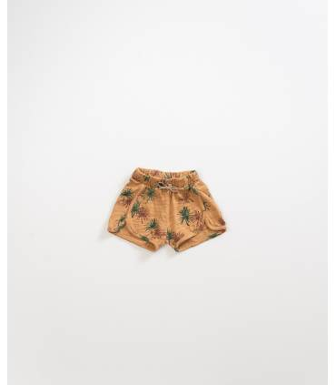 Printed cotton shorts |...