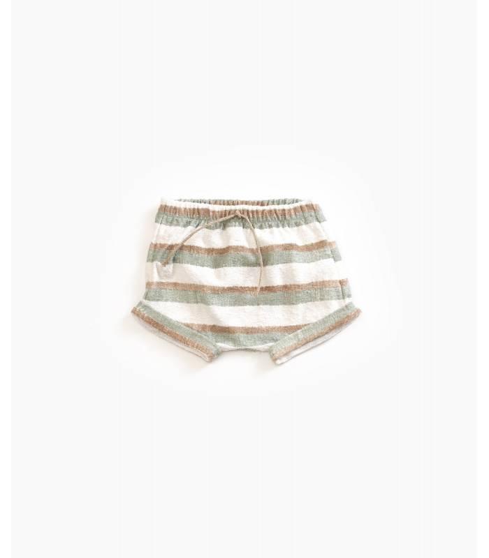 PLAY UP Shorts de algodão orgânico
