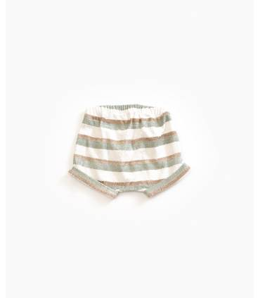 Striped organic cotton...