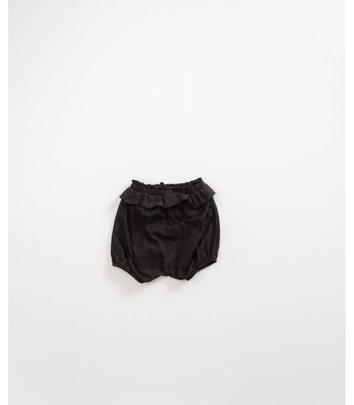 PLAY UP Pantalón corto con volante algodón orgánico