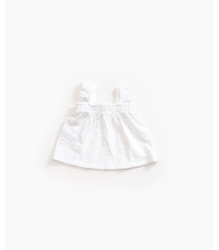 PLAY UP Blusa tirantes algodón orgánico