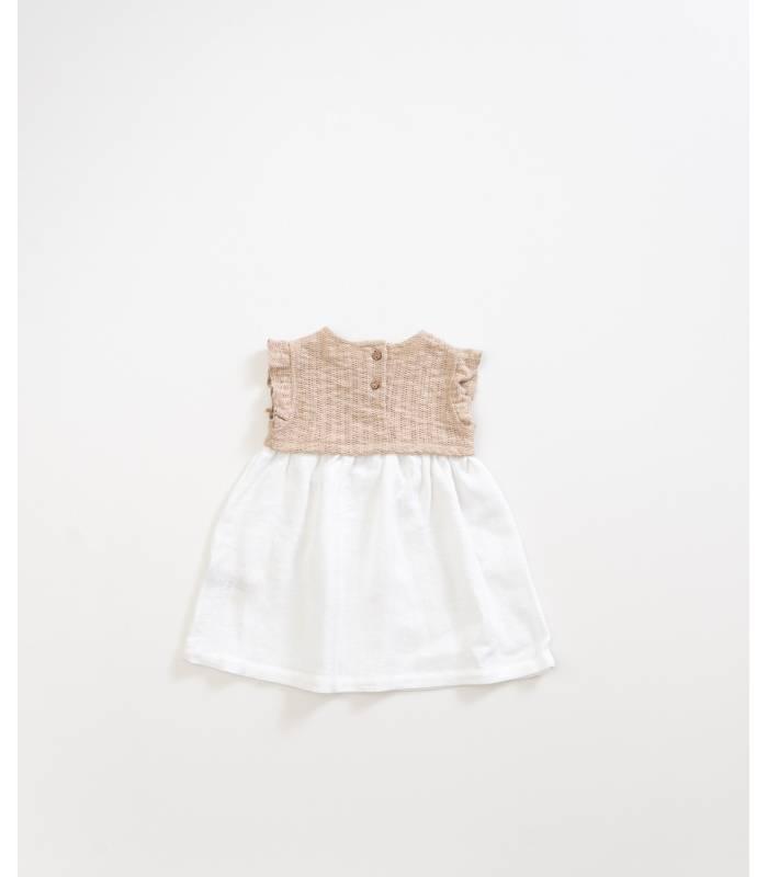 PLAY UP Rustic linen dress