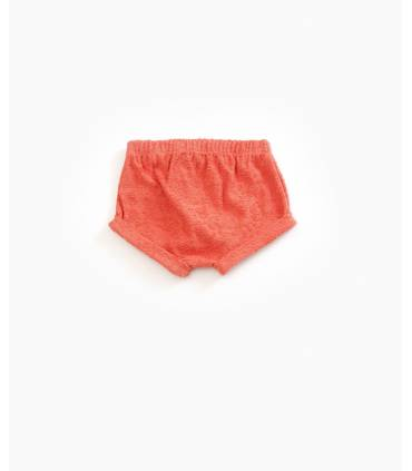Textured knit shorts | Play up