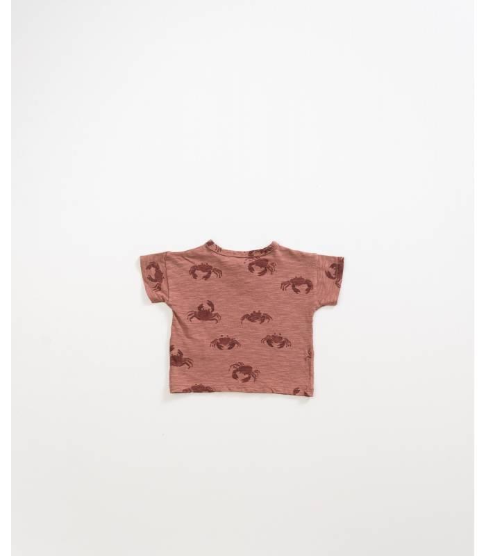 PLAY UP Camiseta cangrejos algodón orgánico