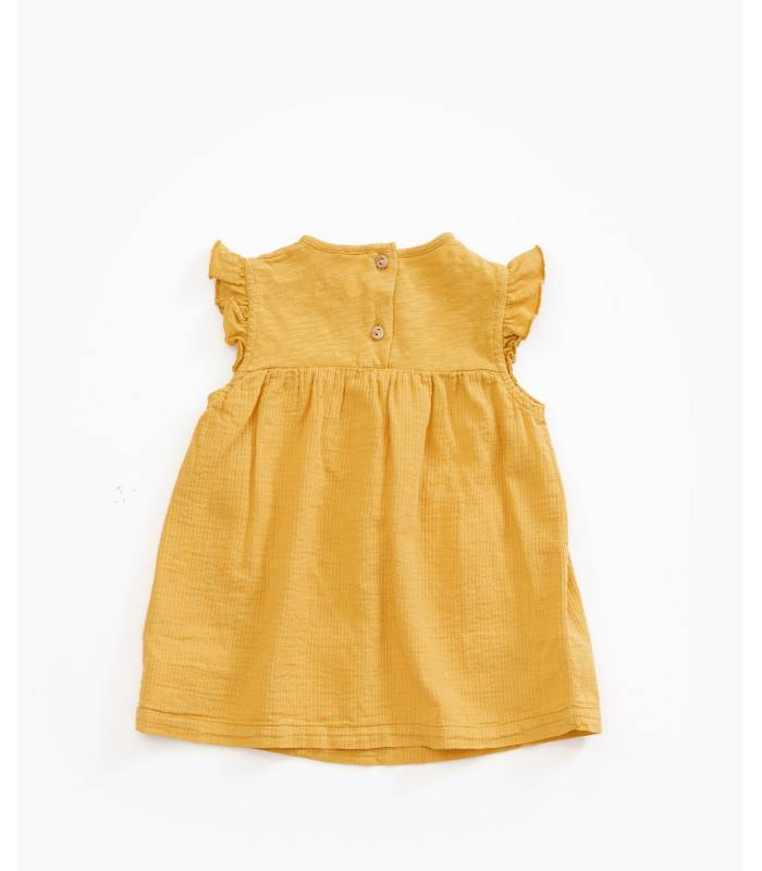 PLAY UP Organic cotton dress with pockets